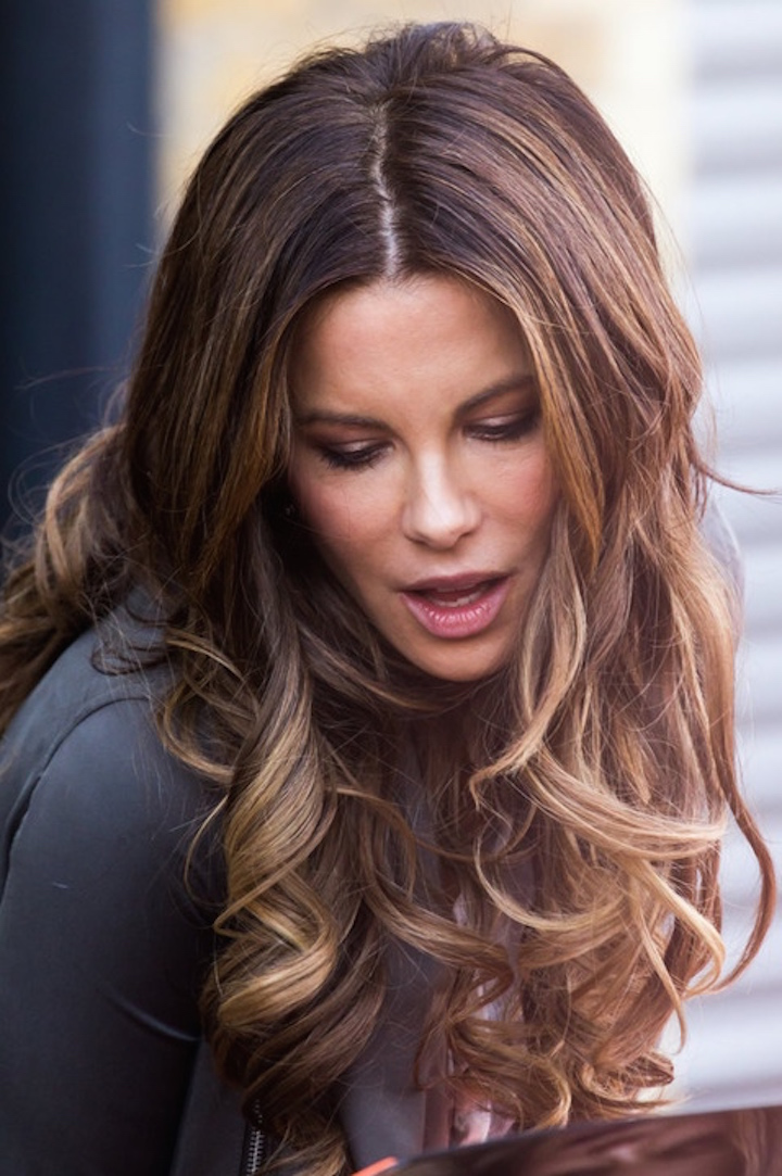 Kate beckinsale hair color cannot be!