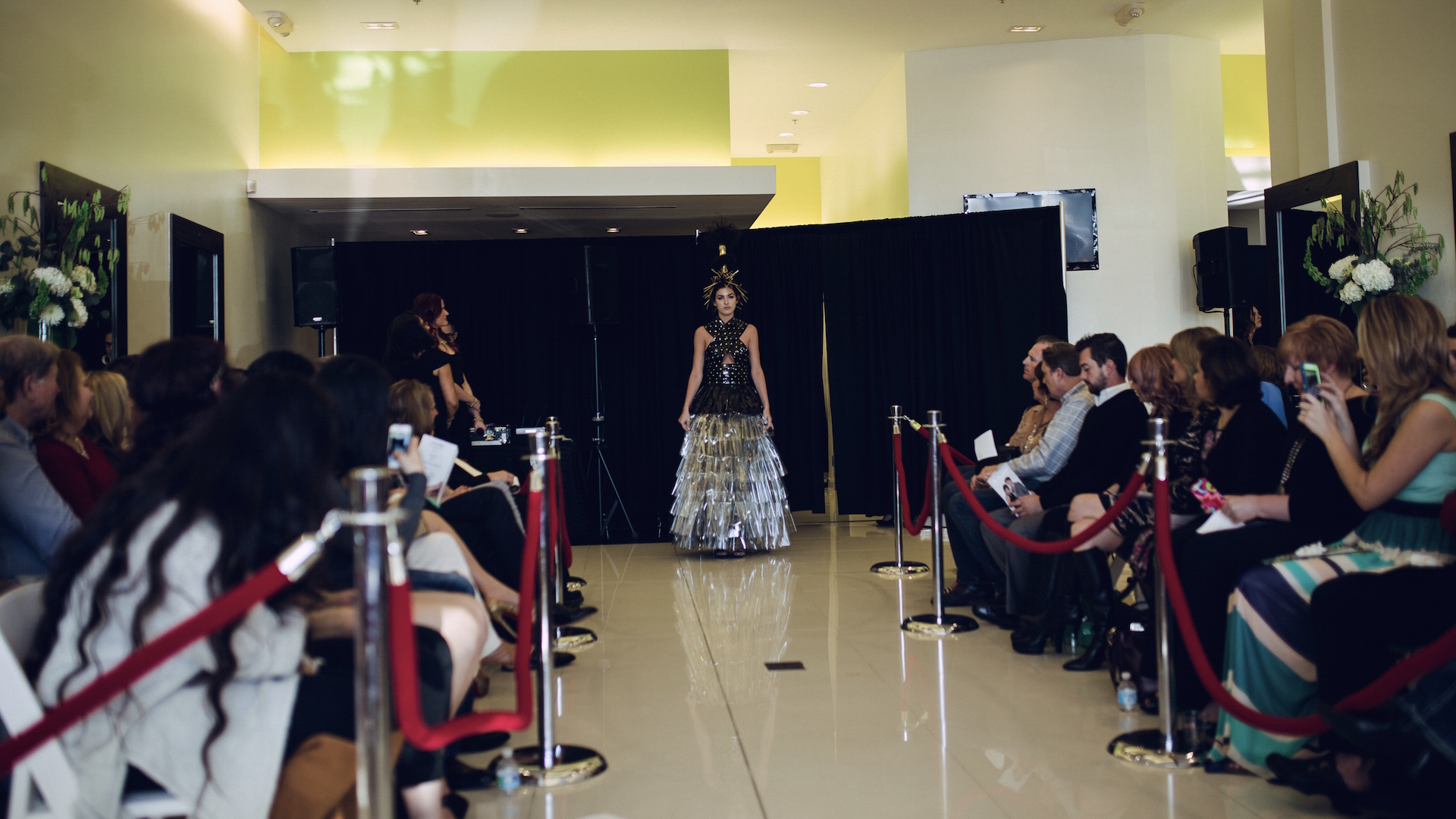 Celebrating 5 year anniversary hair fashion show for Aalam the salon reviews