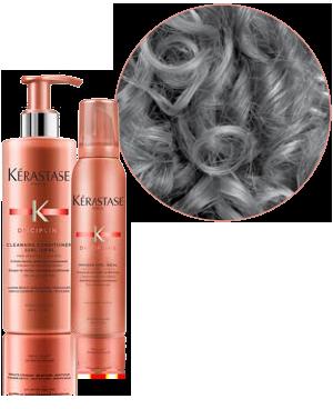 KERASTASE DISCIPLINE COLLECTION Dallas Plano Frisco Curly hair Shape and Definition Allen McKinney Addison TX DFW 1