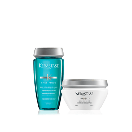 Kerastase SPECIFIQUE SENSITIVE SCALP SET DRY SENSITIVE SCALP Kerastase Plano Dallas Frisco Allen McKinney Addison TX DFW AALAM