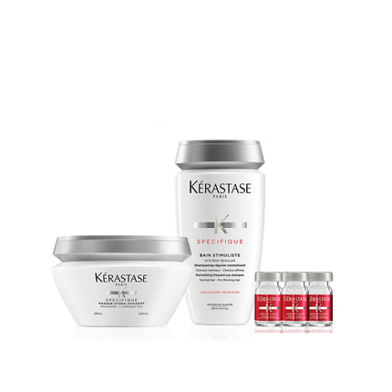 Kerastase SPECIFIQUE THINNING HAIR SET HAIR LOSS THINNING HAIR Kerastase Plano Dallas Frisco Allen McKinney Addison TX DFW AALAM