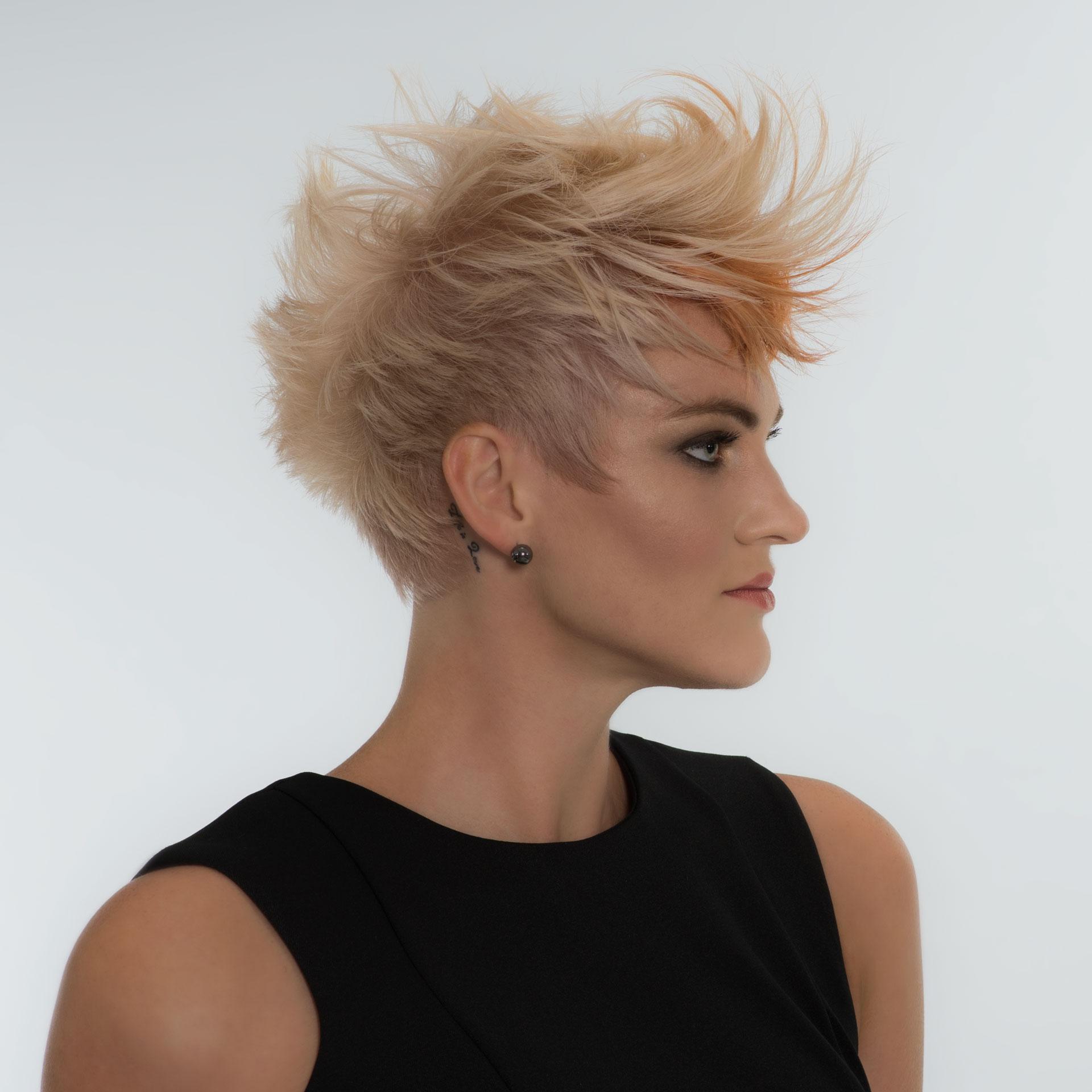 Pixie short Haircut Plano Frisco Dallas Best Hair Salon Allen McKinney Addison TX DFW Top Master Hair Stylist Upscale Salon High End Hair salon DFW TX AALAM The Salon 2