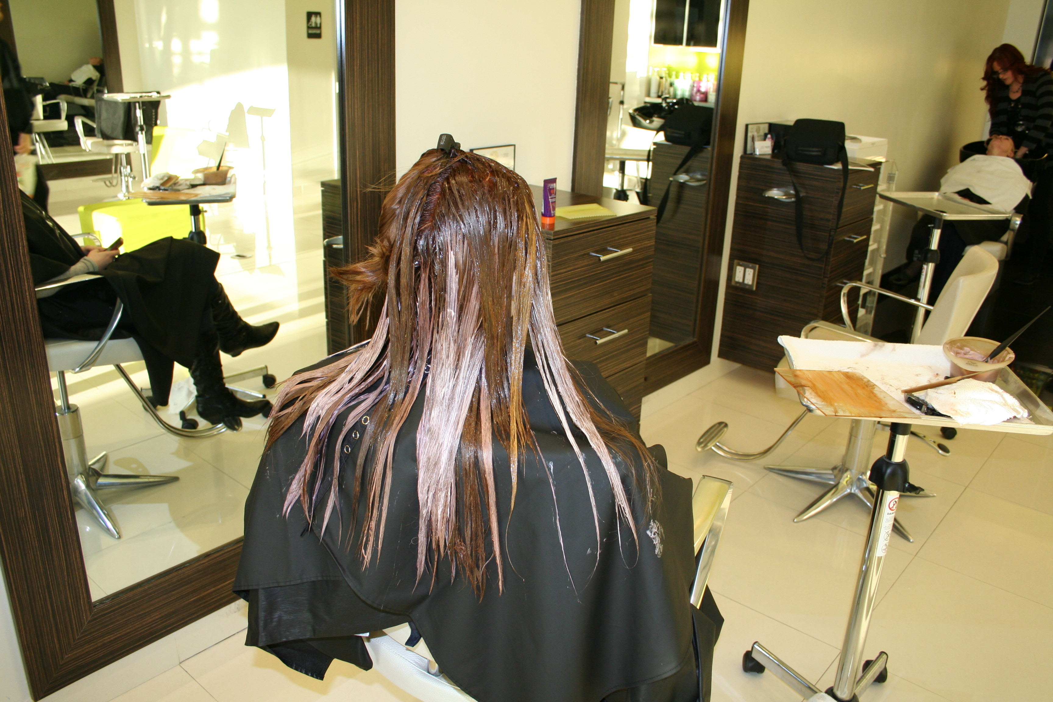 Art of hair color aalam the salon for Aalam the salon reviews