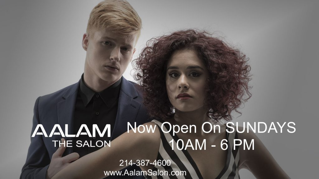 Hair Salon Open on Sunday in North Dallas Serving Plano
