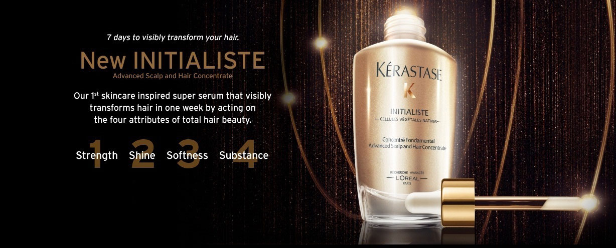 2 Kerastase INITIALISTE Kerastase Dallas Plano Frisco Allen McKinney Addison TX DFW AALAM The Salon Advanced Scalp and Hair Concentrate Hair Product Treatment Kerastase