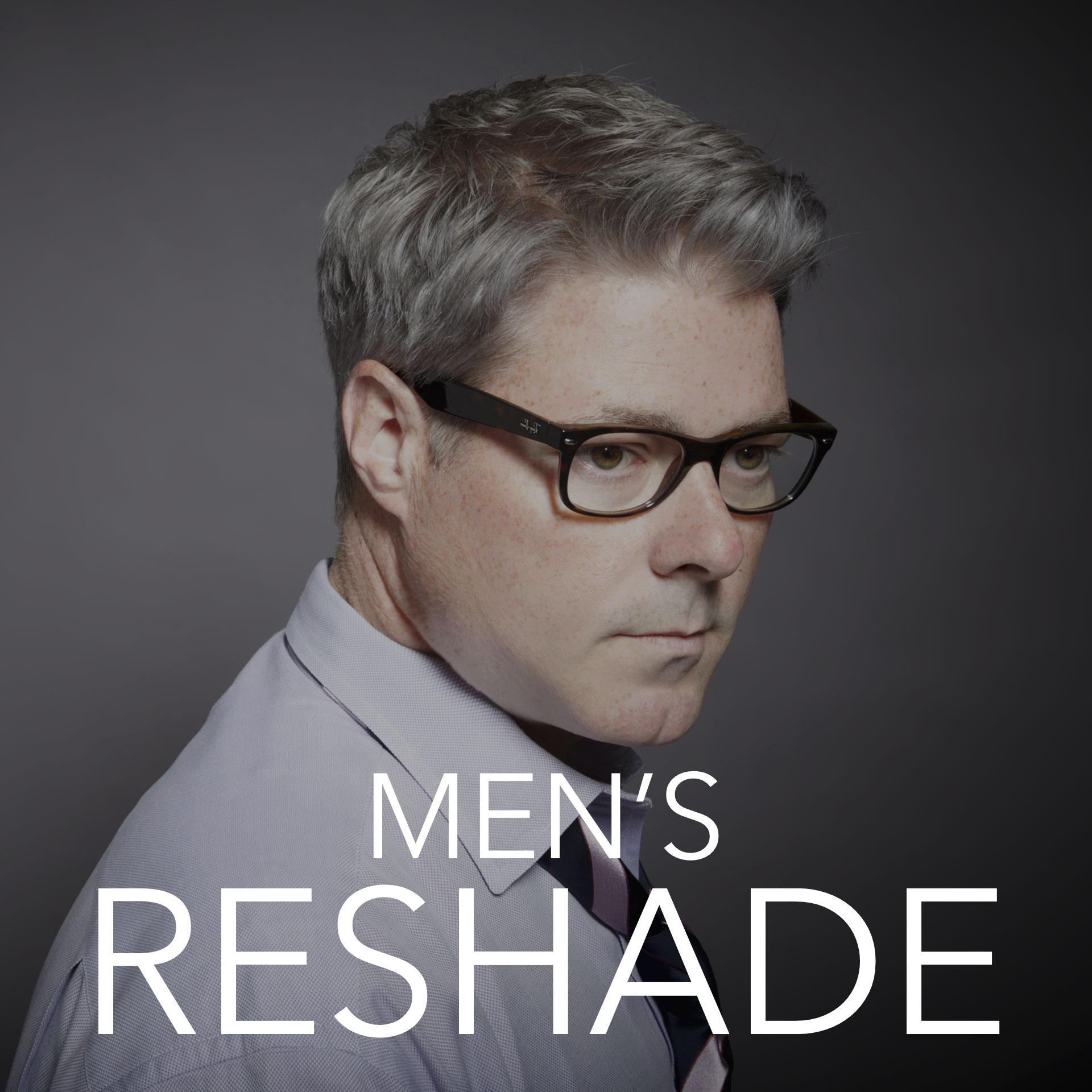 Men s reshade gray blending masculine shades aalam for Aalam salon dallas