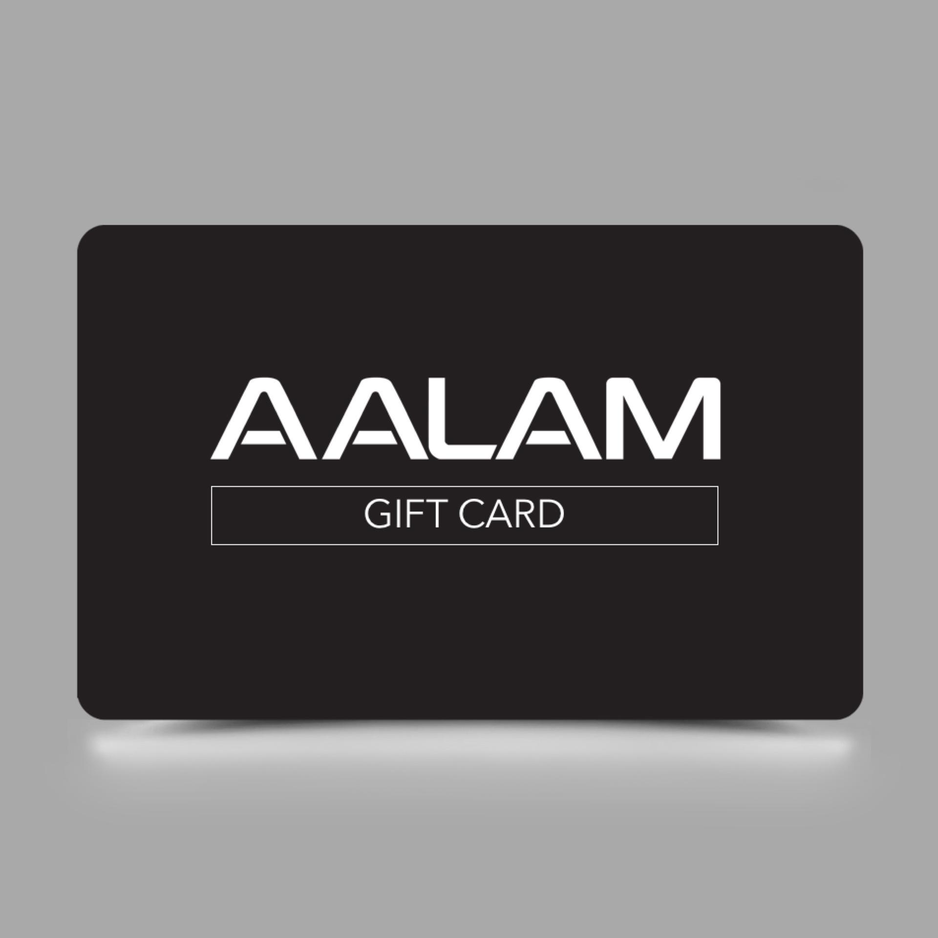 gift card aalam the salon aalam the salon