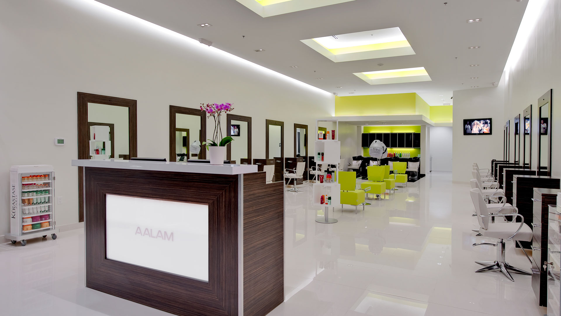 AALAM The Salon Plano TX Best Hair salon LUXBAR Blow Dry Bar Plano Top Salons for Men Women Upscale Plano High End Makeup Bar Haircut Balayage Highlights Kerasatase Oribe Shu Uemura North Dallas e