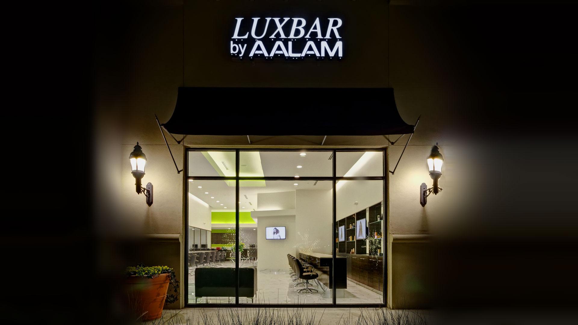 Luxbar plano frisco blow dry bar makeup bar in north for Aalam salon dallas